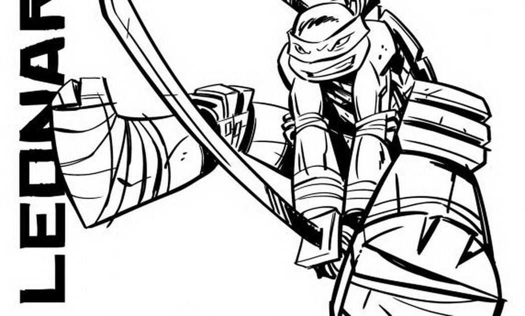 Teenage Mutant Ninja Turtle Coloring Pages (19 Pictures ...