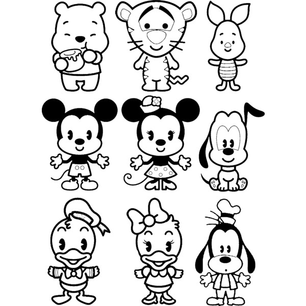 Coloring Pages Disney Cuties : Disney cuties coloring pages az
