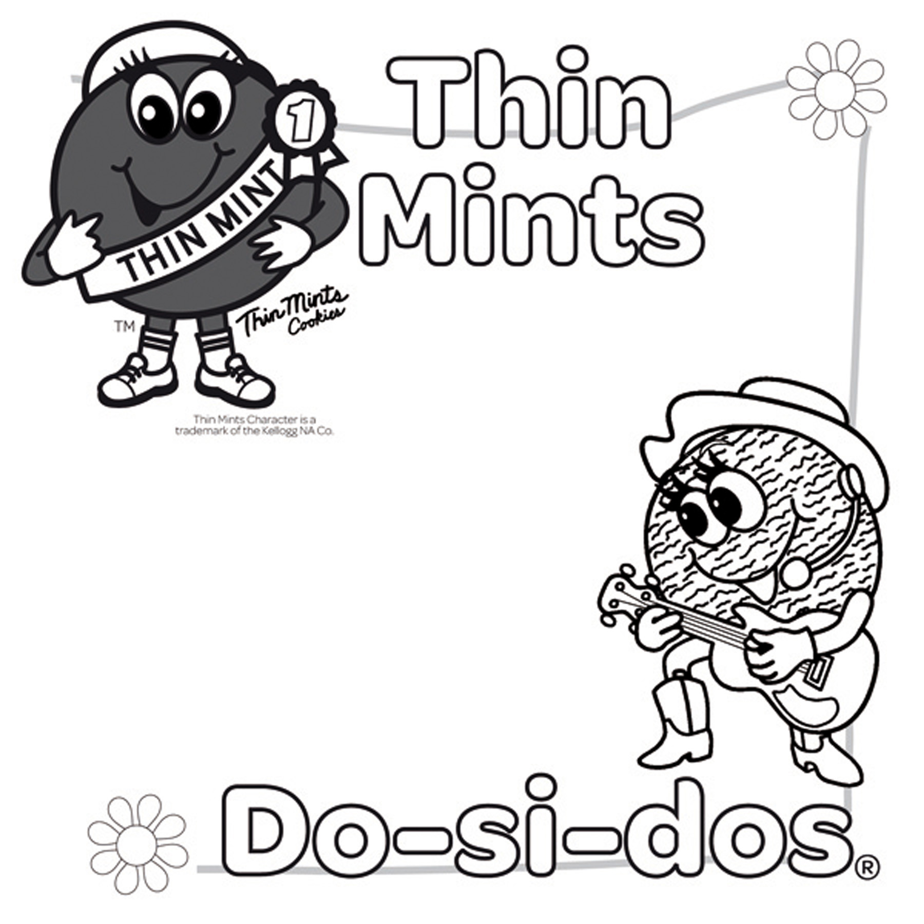 girl scout coloring pages brownie - photo#24