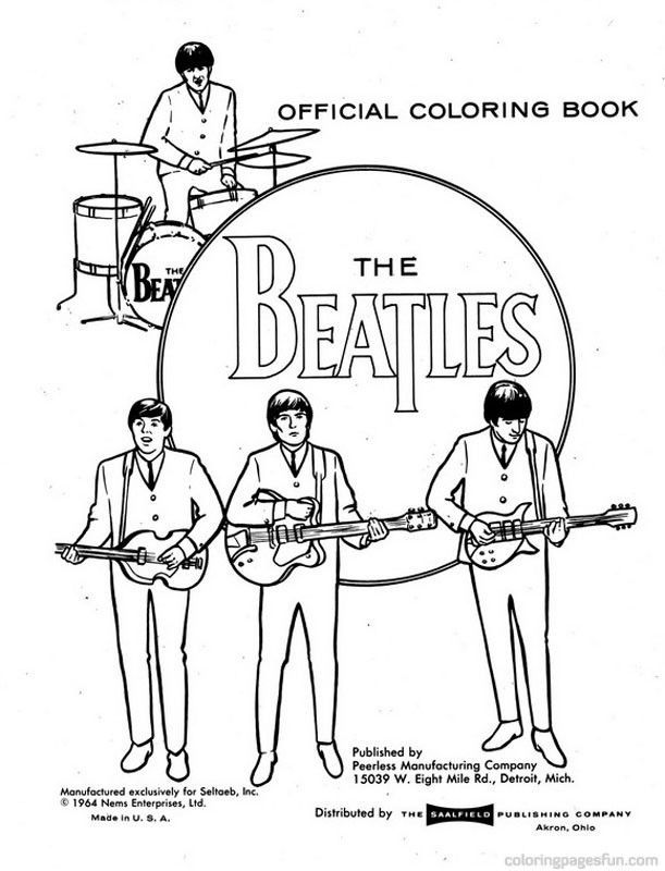 yellow submarine coloring pages - photo #30