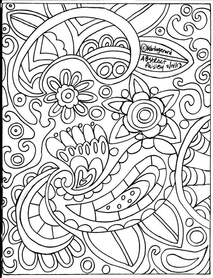 Paisley Coloring Pages Paisley Coloring Pages For Adults Free ... | 958x736