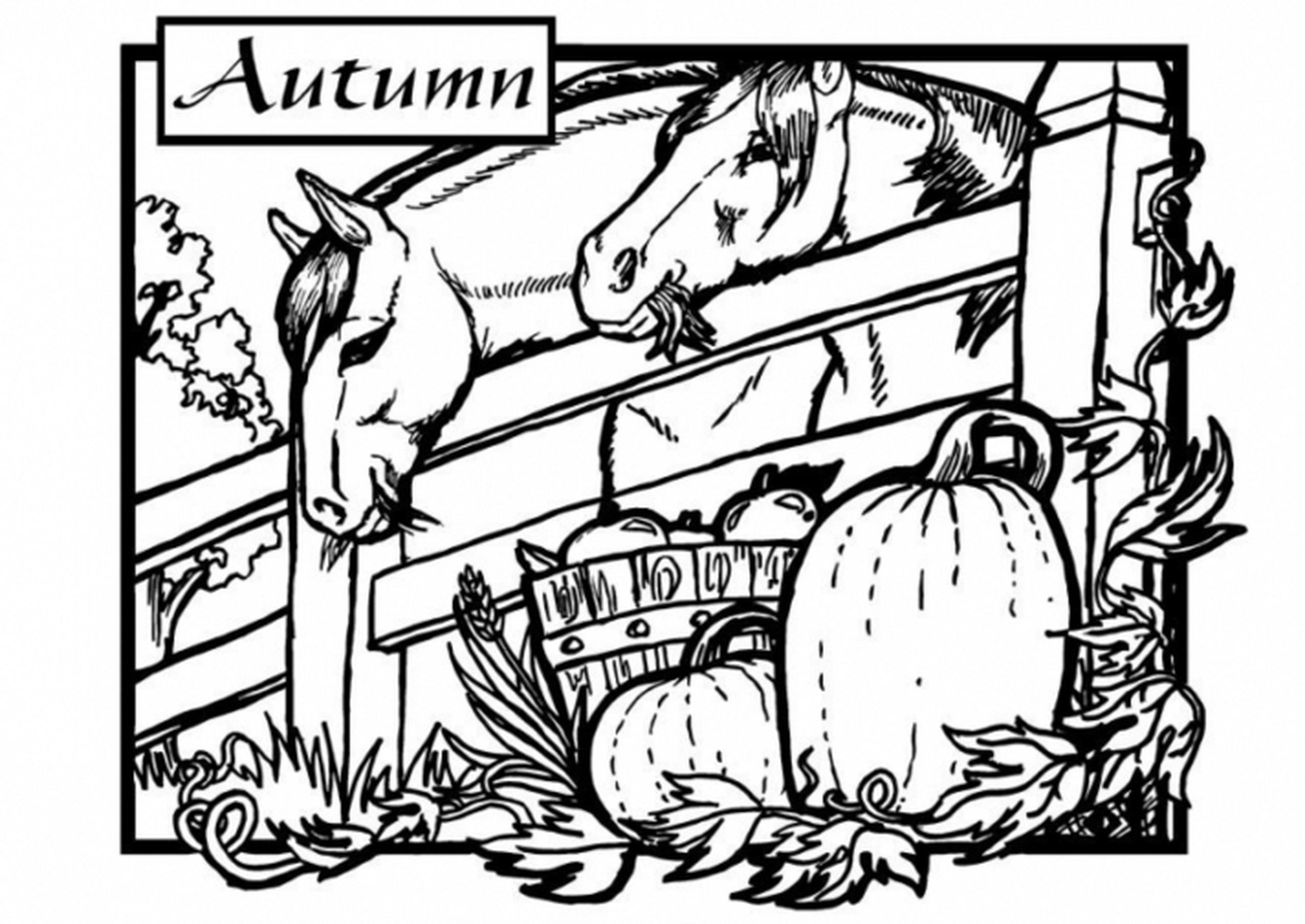 - Amazingly Autumn Crayolaca. Cool Fall Coloring Sheets Free
