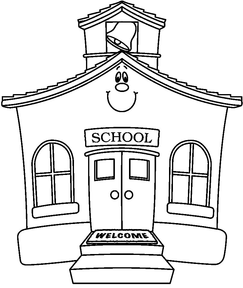 school images coloring pages - photo#15
