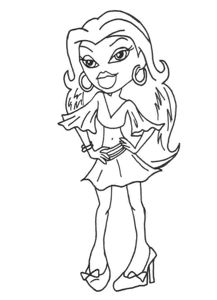 Bratz Coloring Pages Pdf : Bratz coloring pages  disney book res