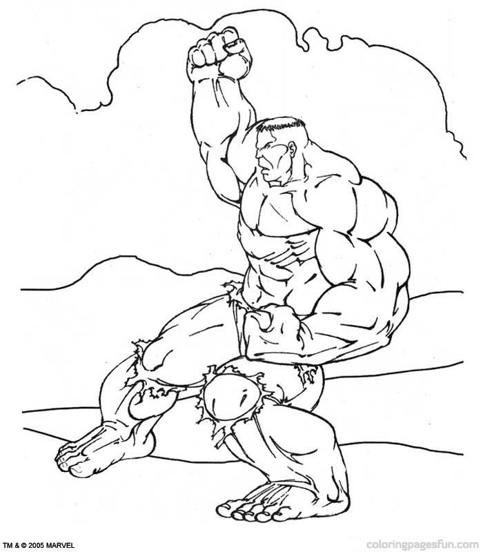 Hulk Coloring Pages 44 | Free Printable Coloring Pages
