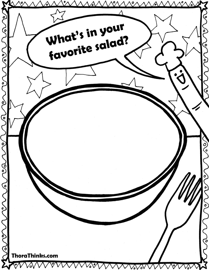 soup and sandwiches coloring pages - photo#17