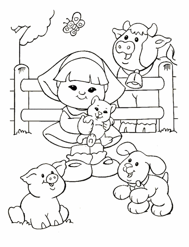 coloring pages of poeple - photo#34