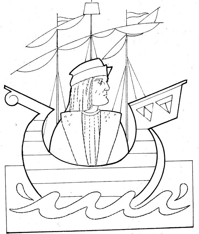 christopher columbus coloring pages az coloring pages