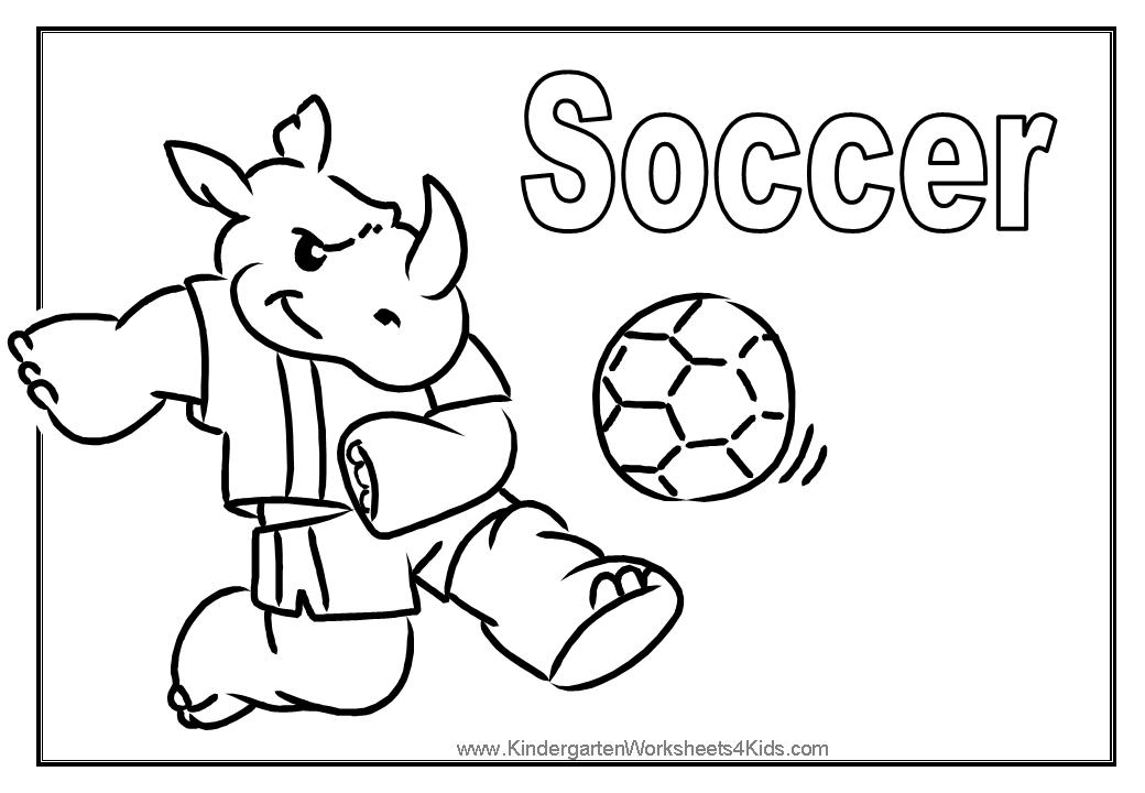 coloring pages soccer balls