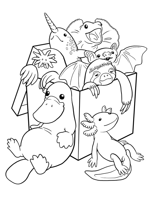 morbid coloring pages - photo#4