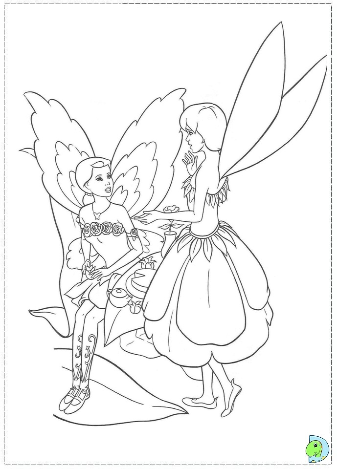 Barbie Fairytopia Coloring Pages - AZ Coloring Pages