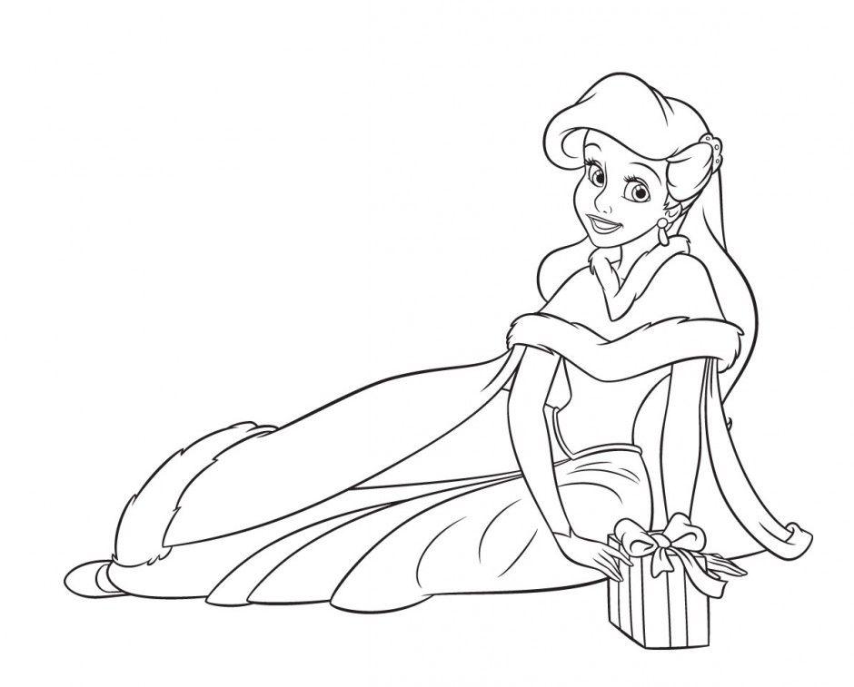 Disney Princess Ariel Coloring Pages - GetColoringPages.com | 757x940