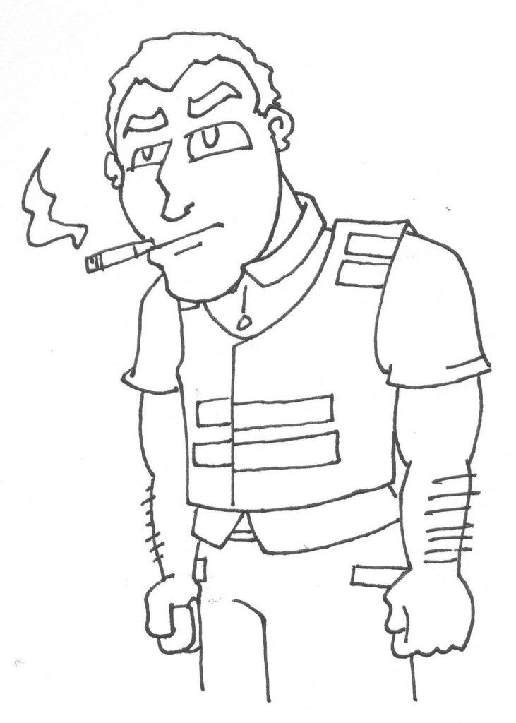 construction coloring pages worker coloring pages coloring pages - Construction Worker Coloring Page