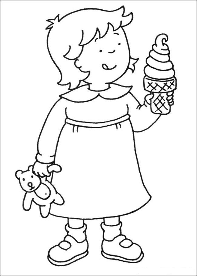 Caillou Coloring Pages Online - Picture 30 – Free Printable
