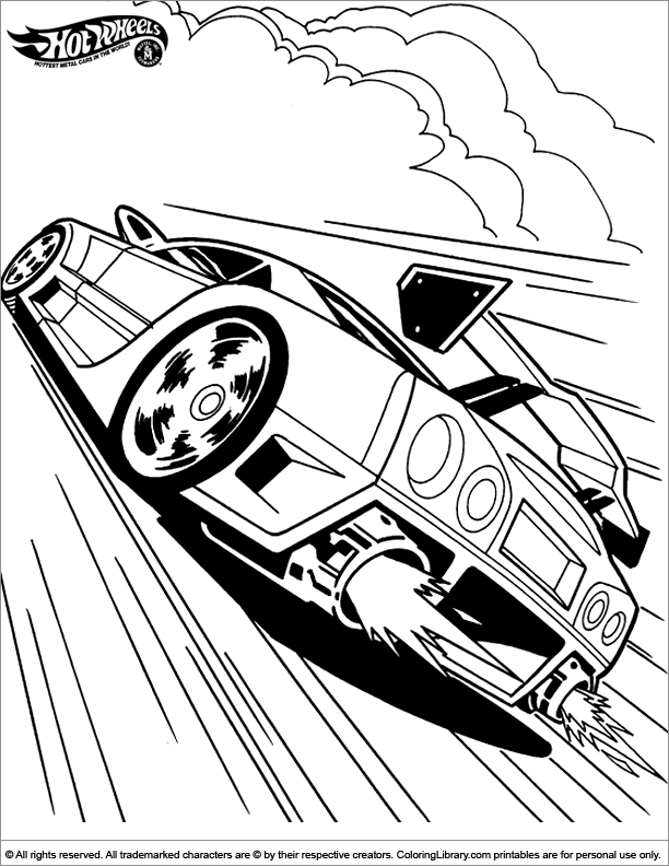 hot wheels coloring pages pdf - hot wheels sheets coloring home