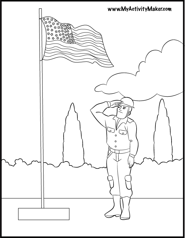 flags coloring pages for kids - photo#14