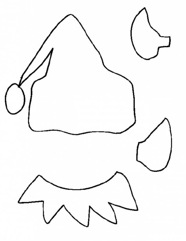 Elf Coloring Pages Pdf : Christmas elf tree the coloring pages printable id