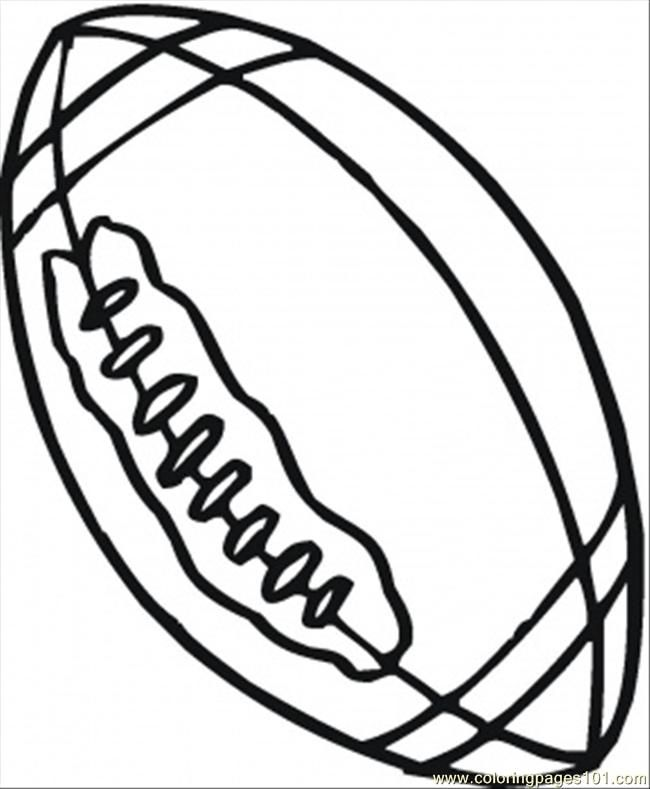 - Sports Balls Coloring Pages - Coloring Home