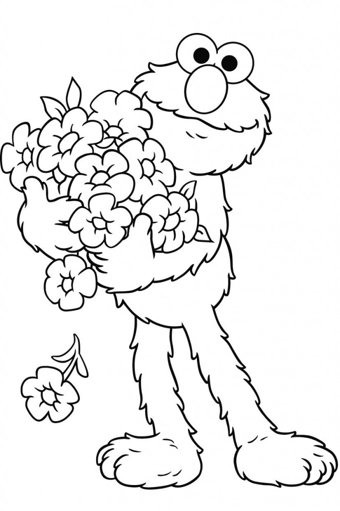 elmo coloring pages christmas - free elmo coloring pages az coloring pages