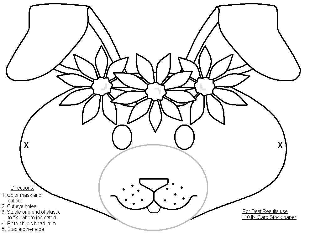 Free Coloring Pages Halloween Masks : Masks To Color Coloring Home