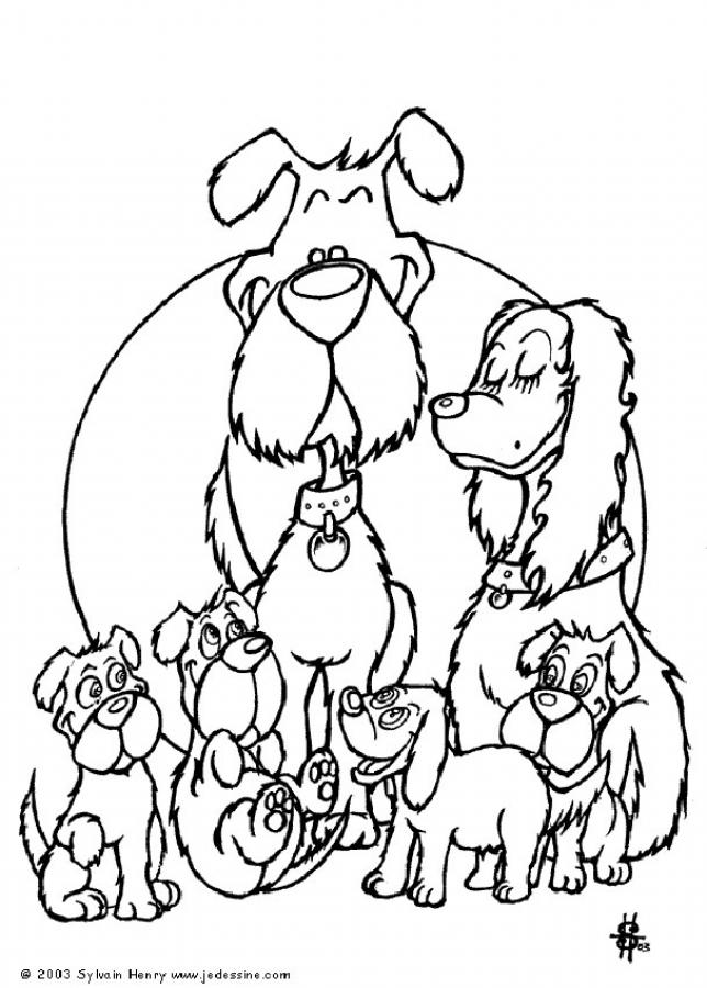 Free Family Printable Coloring Pages - AZ Coloring Pages