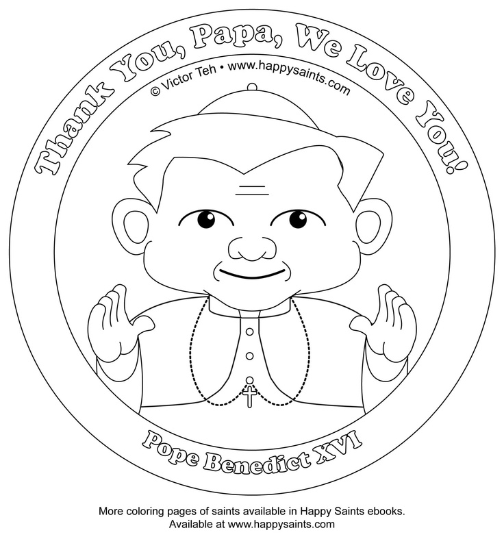 catholic all saints coloring pages - photo#33