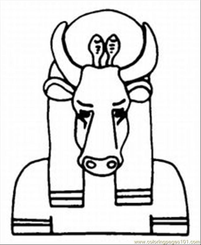 Egyptian Coloring Pages Coloring Home