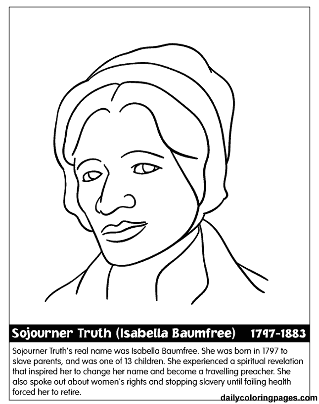 Black History People Coloring Pages Coloring Home Black History Coloring Pages
