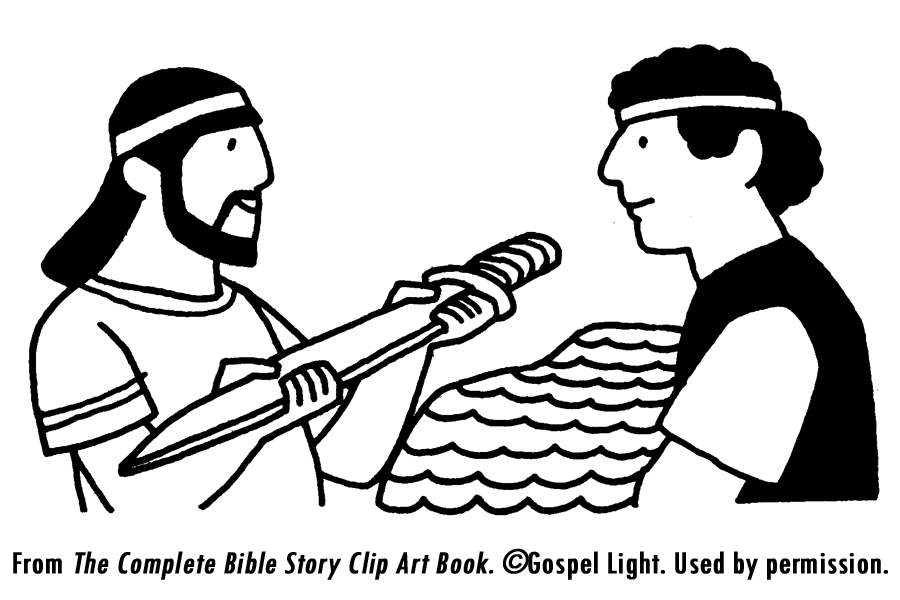 Mephoboseth free colouring pages for Mephibosheth coloring page
