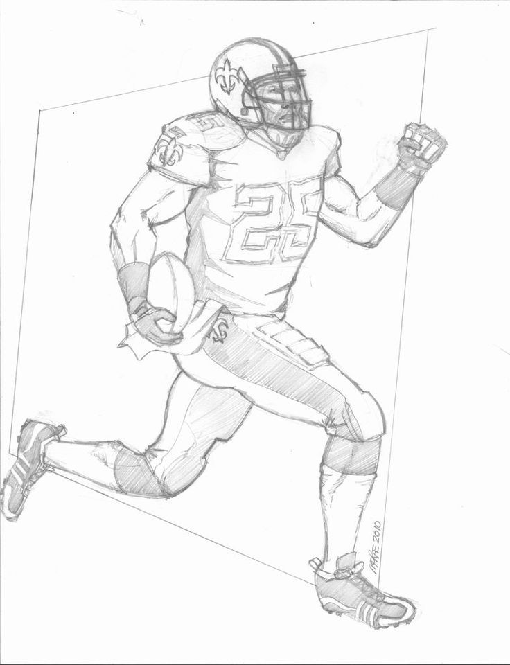 saints football coloring pages - photo#23