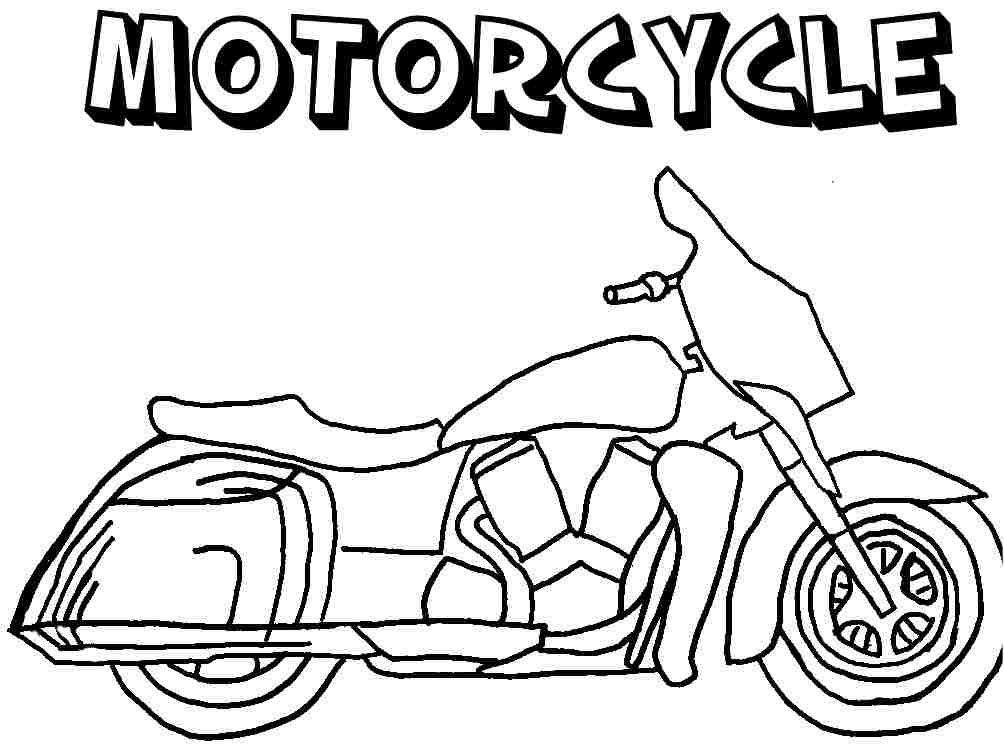 Colouring Pages Transportation