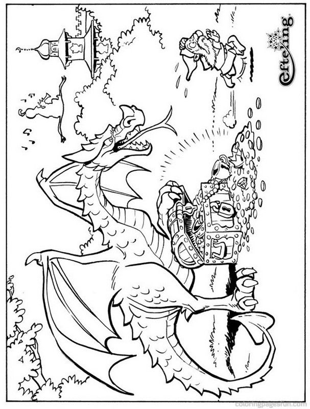 Fairy Tale Coloring Page Coloring Home