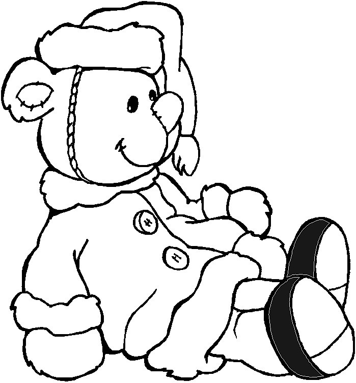 Teddy bear coloring pages to print az coloring pages for Teddy bear printable coloring pages