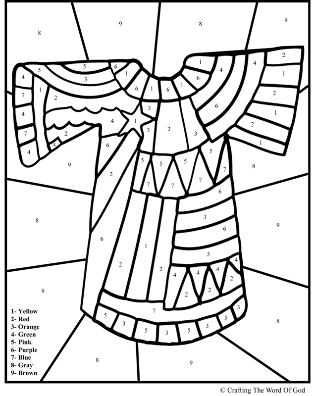 josephs coloring pages - photo#20