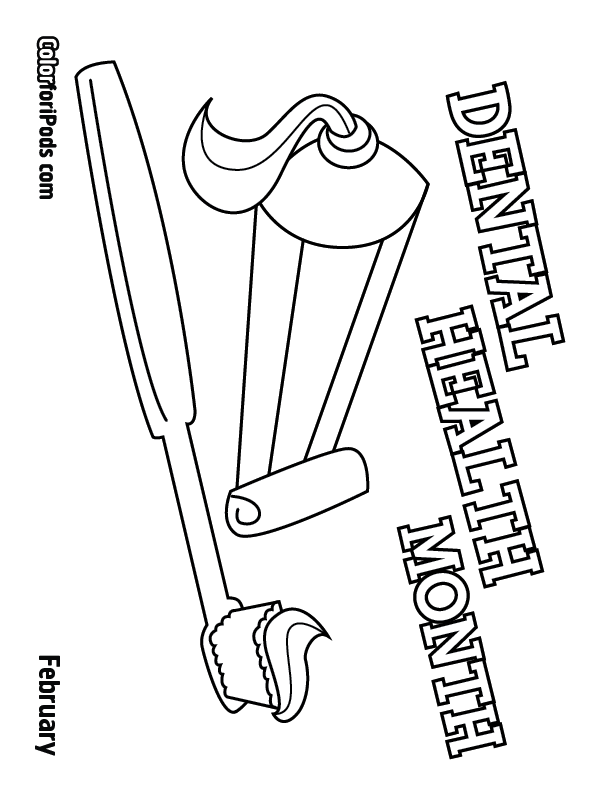 Best Dental Health Coloring Sheets Pictures Coloring Page Design
