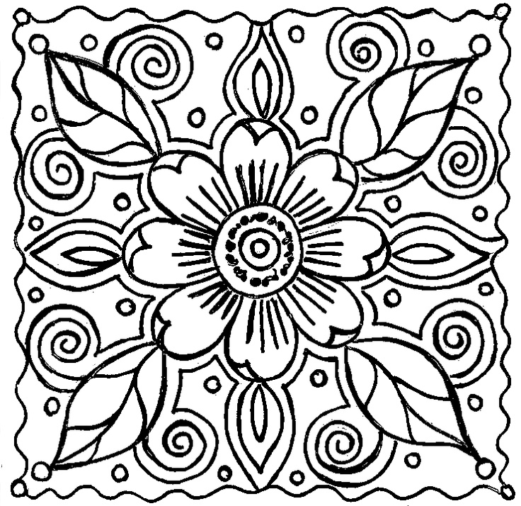 Abstract Coloring Pages For Adults Az Coloring Pages Printable Abstract Coloring Pages For Adults