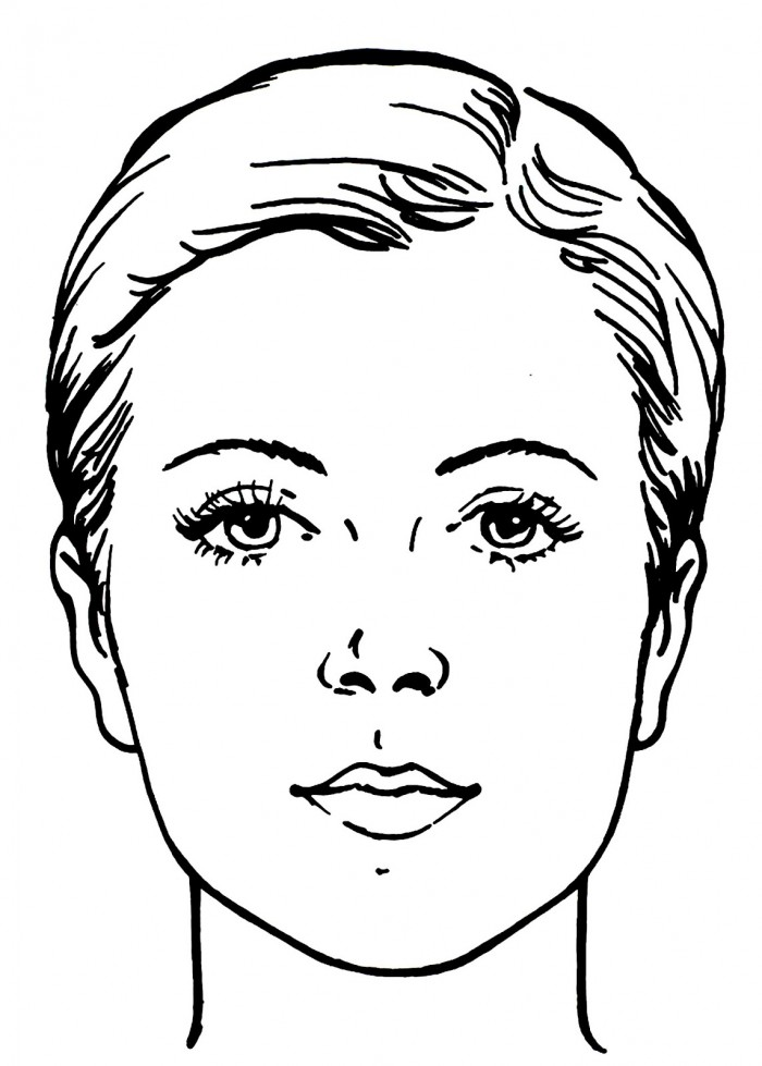 coloring pages childrens face - photo#17