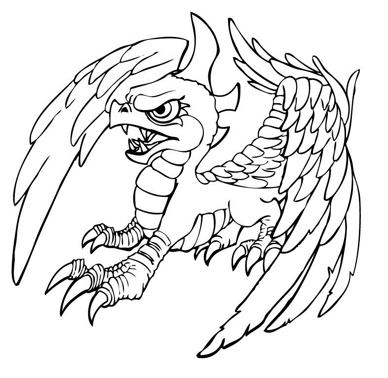 unusual coloring pages-#14