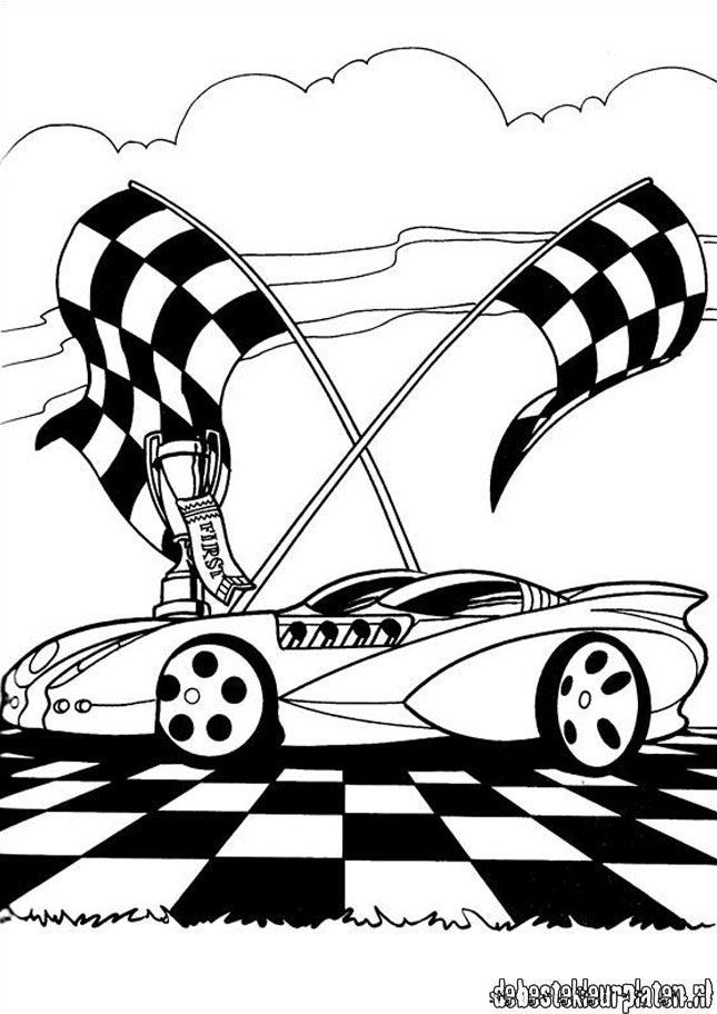 Hotwheels26 - Printable coloring pages