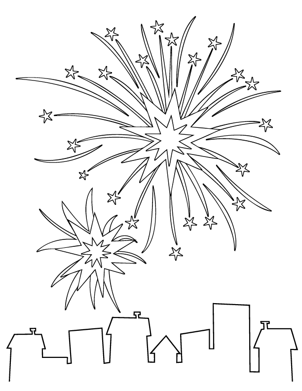 fireworks coloring pages find the latest news on fireworks