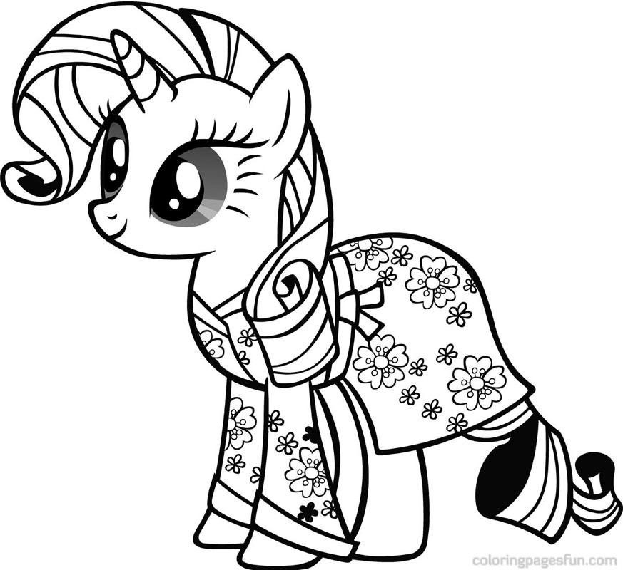 Baby Pony Coloring Pages AZ Coloring