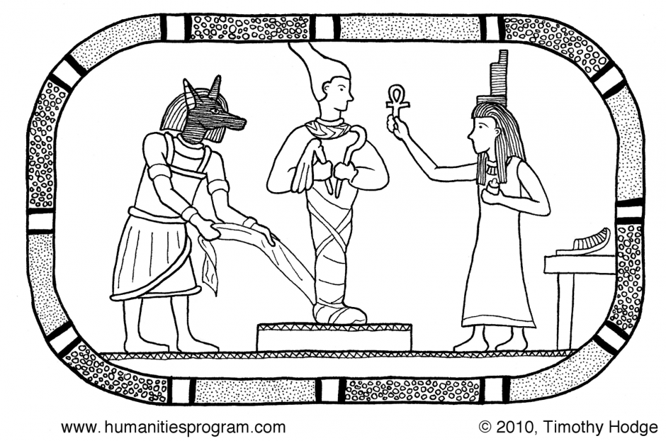 Ancient Egypt Coloring Pages For Kids Egyptian Gods Coloring 48428 ...