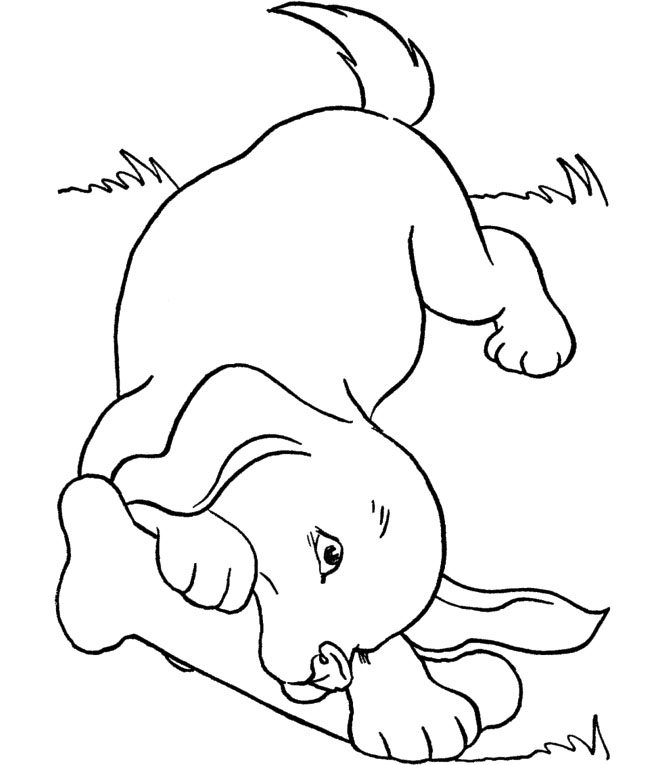 Dog Bone Coloring Pages Bone Coloring Page |dog