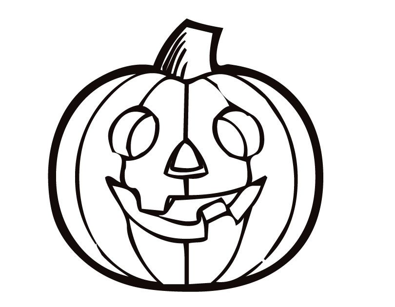 Printable Pumpkin coloring page from FreshColoring.