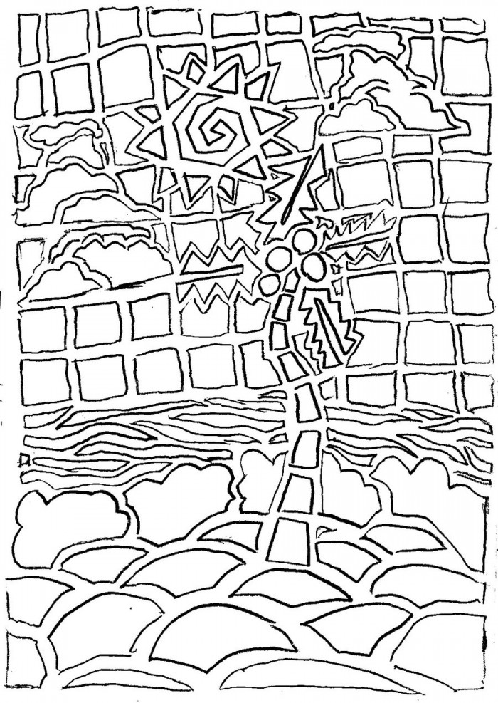 Mosaic coloring pages free az coloring pages for Roman mosaic templates for kids