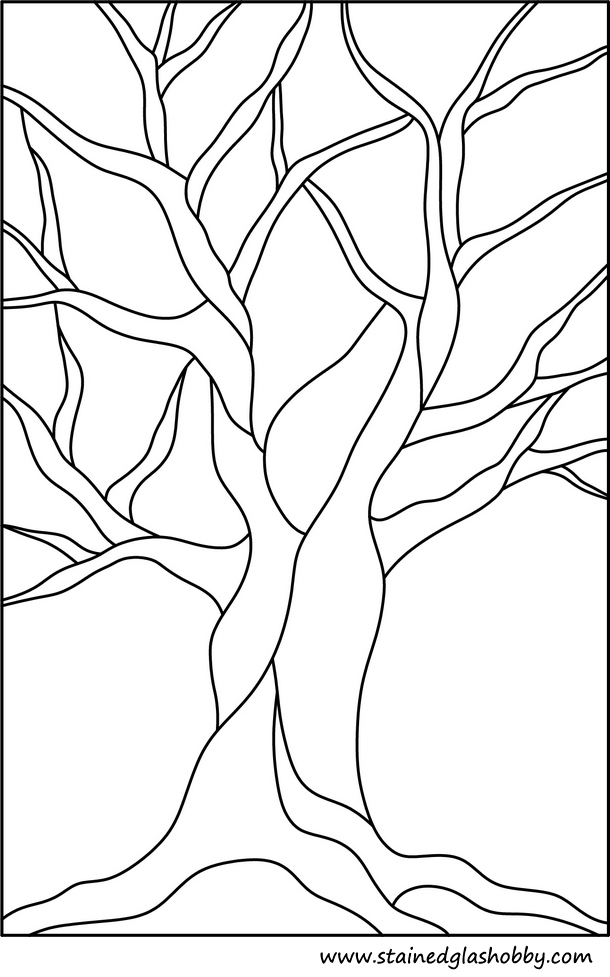 stain glass christmas coloring pages - photo#36