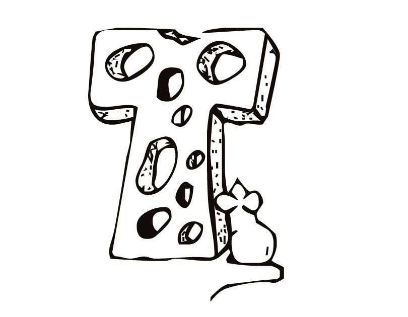 Letter T Coloring Pages Coloring Home