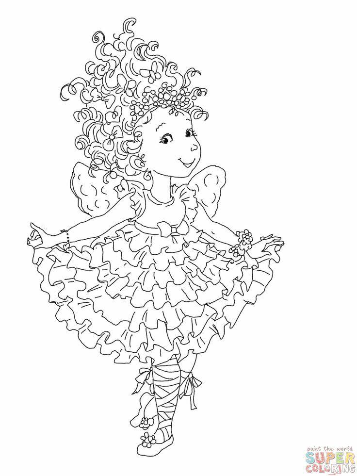 Fancy Nancy Printable Coloring
