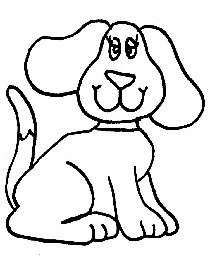 cartoon dog coloring pages - photo#28