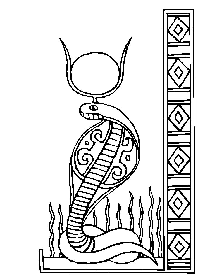 ancient egyptian coloring pages - photo#23